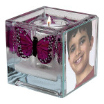 Butterfly Foto Candle
